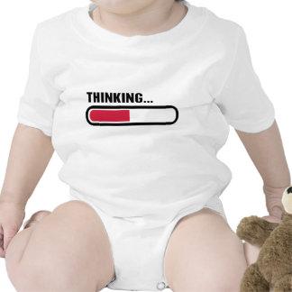 Thinking loading t shirts