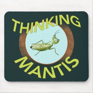 Thinking Mantis Mouse Pad
