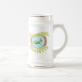Thinking Mantis Mug