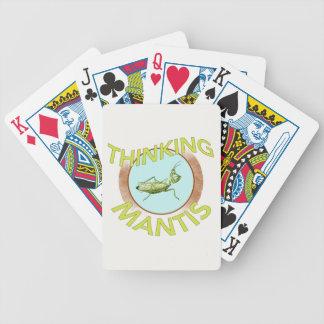 Thinking Mantis Playing Cards