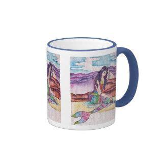 Thinking Mermaid Mug