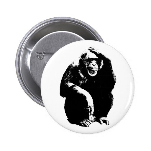 Thinking Monkey Buttons