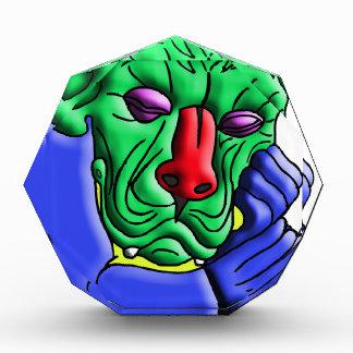 Thinking Monster Acrylic Award