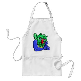 Thinking Monster Adult Apron