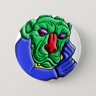 Thinking Monster Button