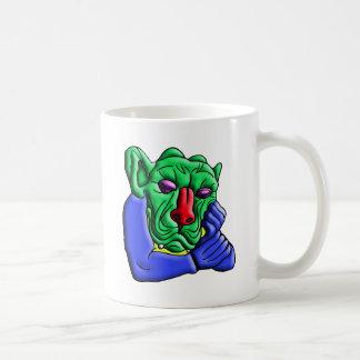 Thinking Monster Coffee Mug