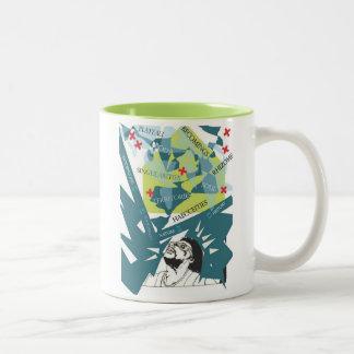 Thinking Of Deleuze Two-Tone Coffee Mug