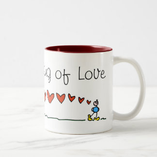 Thinking of Love BIMBO mug