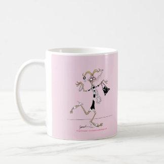 thinking of me ! coffee mug