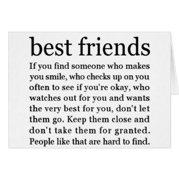 friendshipandfun THINKING OF MY ****BEST FRIEND**** HAPPY BIRTHDAY CARD