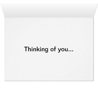 Thinking Of You #1 Card