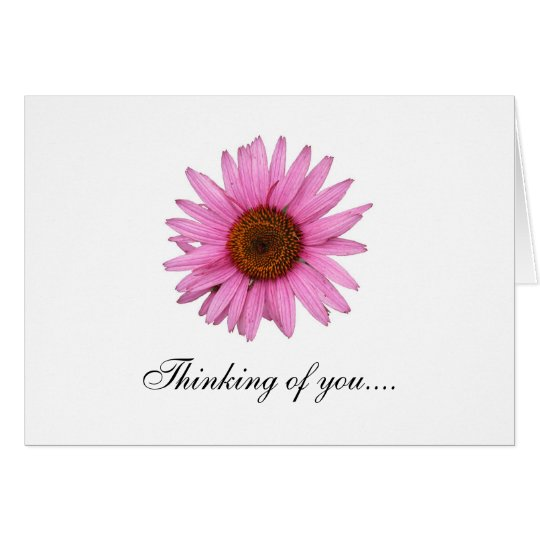 Thinking of you... and get well soon card