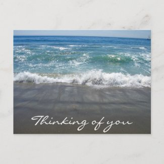 Thinking of you/ Any Occasions_ Postcard postcard