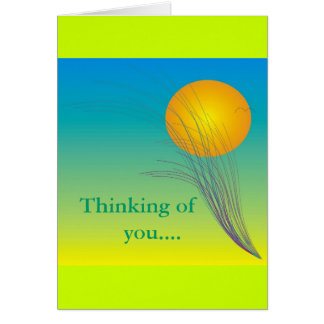 Thinking of you Art Card