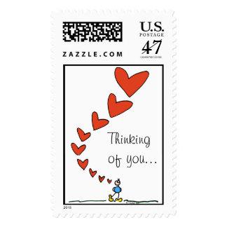 Thinking of you... BIMBO stamp