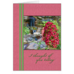 Thinking of You, Bougainvillea, Birds, Waterfall Cards