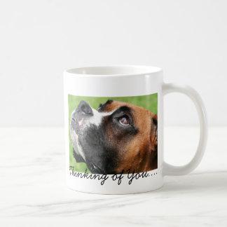Thinking of You Boxer - Vindy Coffee Mug