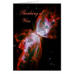 Thinking of You - Butterfly Nebula in Scorpius Greeting Card