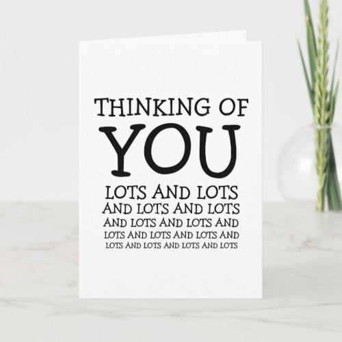 Thinking of you cancer or get well customizable card