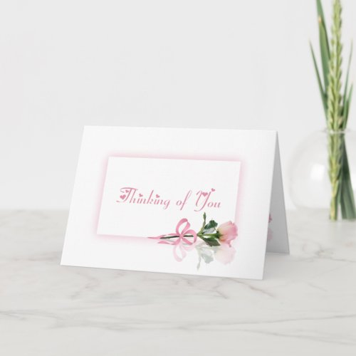 Thinking of You zazzle_card