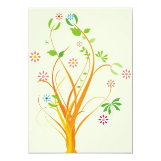 """Thinking of You Card 5"""" X 7"""" Invitation Card"""