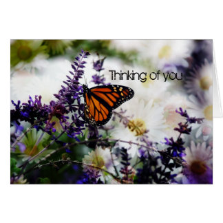 Thinking of You Card ~ Monarch Butterfly