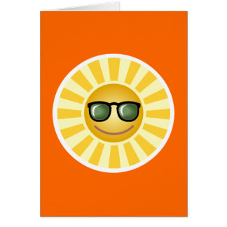 Thinking of You Card: Sun Card