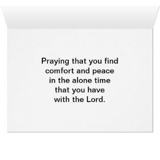 Thinking of You card with Scripture