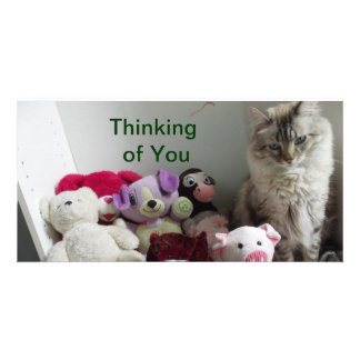 thinking of you cards photo greeting card