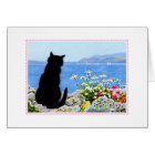 Thinking of You CAT Greetings CARD