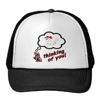 Thinking of You Chicken Trucker Hat