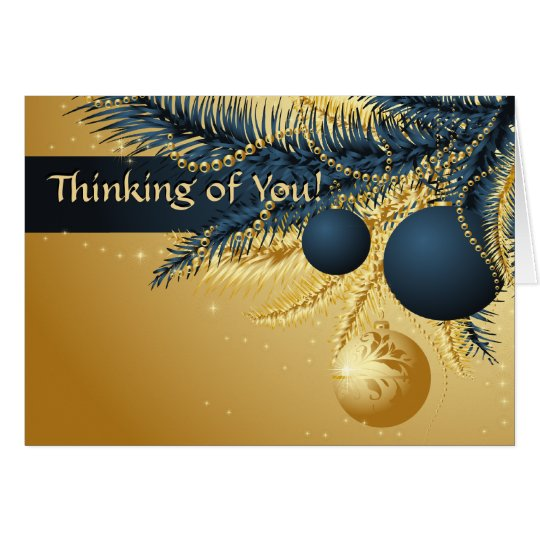 Thinking of You Christmas Card