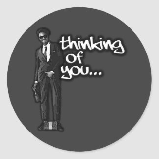 Thinking of You Classic Round Sticker