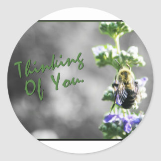 Thinking of You! Classic Round Sticker