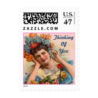 Thinking Of You Daydreams Victorian in roses STAMP