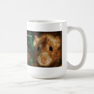 Thinking of you Fancy Dumbo Rat Coffee Mug