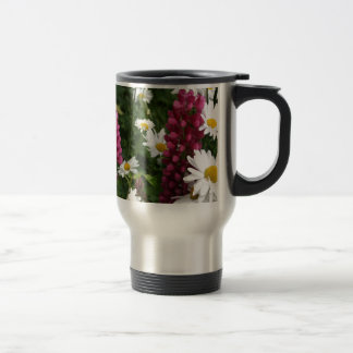 Thinking Of You Floral Blossoms Travel Mug