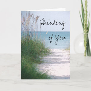 Thinking of you cards zazzle thinking of you greeting card m4hsunfo
