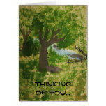 Thinking of  You... Greeting Cards