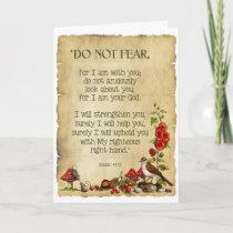 Thinking of You: Isaiah 41:10, Original Nature Art Card