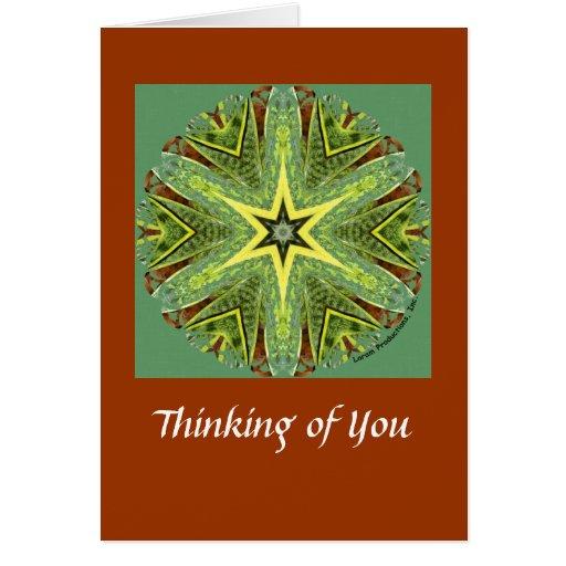 Thinking of You Kaleidoscope Card