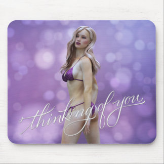 Thinking of You Laurie Mouse Pads