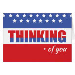 Thinking of You Military Service Patriotic