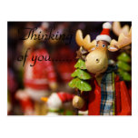 THINKING OF YOU MOOSE POSTCARD