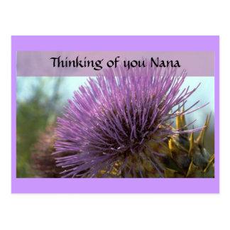 Thinking of you Nana Card
