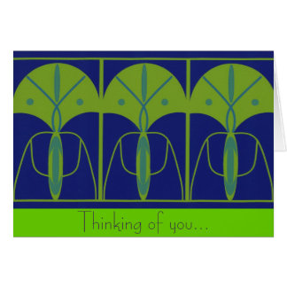 """""""Thinking of you"""" note card"""