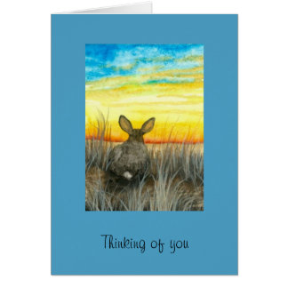 Thinking of You on Easter Card by Bihrle