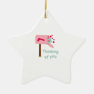 THINKING OF YOU CHRISTMAS ORNAMENTS