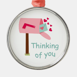 THINKING OF YOU CHRISTMAS TREE ORNAMENT