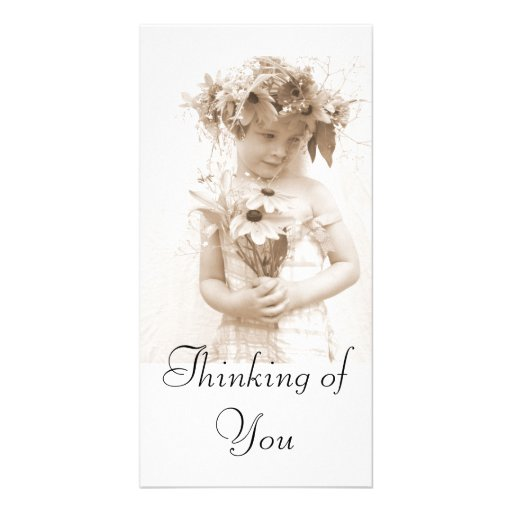 Thinking of You Personalized Photo Card